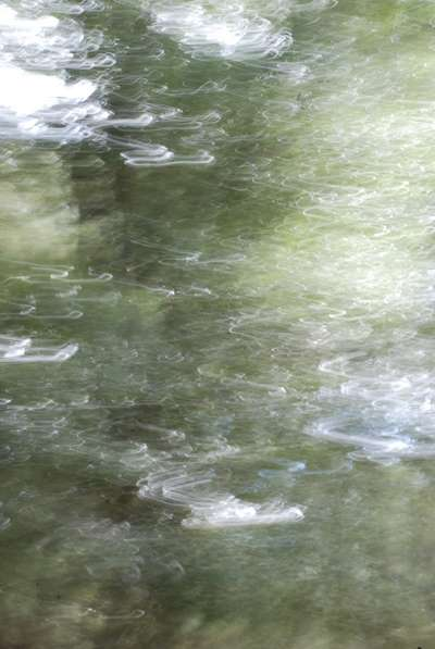 Art abstrait, Photographie gestuelle : Innerwaters 21(tribute to Monet)